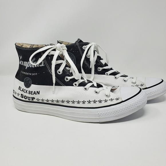 Converse Other - Andy Warhol Black Bean Converse